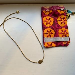Noonday Droplet necklace gold...New with bag